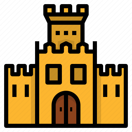 bastion, bulwark, fortification, partition, rampart, wall icon