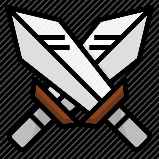 battlefield, fight, fighter, sword, weapon icon