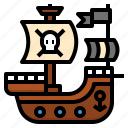 adventure, bandits, boat, pirate, sailing, ship