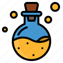 chemist, drug, magic, poison, portion icon