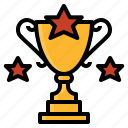 achieve, beat, conquer, reward, trophy, winner icon