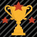achieve, beat, conquer, reward, trophy, winner icon
