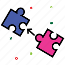 creative, game, idea, marketing, puzzle, seo, solutions icon