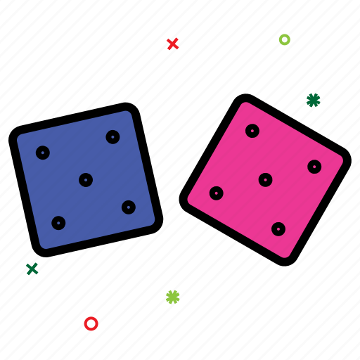 casino, dice, gambling, game, luck, play, probability icon