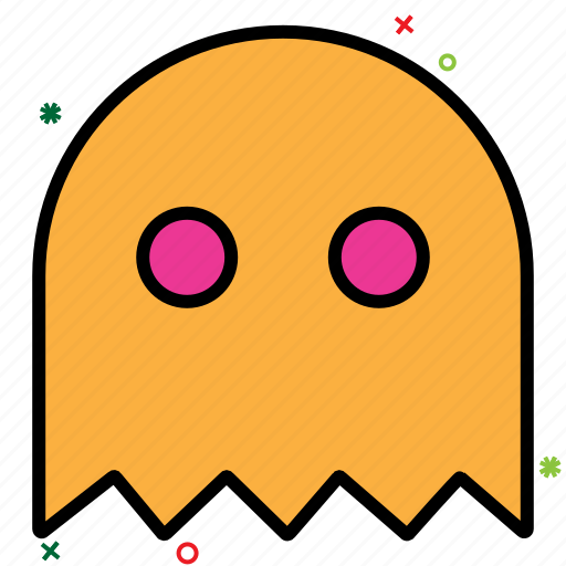 casper, computer games, indoor game, online game, pacman, video game icon