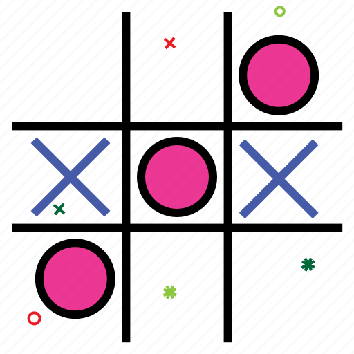 entertainment, noughts and crossess, paper pencil game, puzzle game, tic tac toe, tic-tac-toe icon
