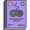fun, game, magazine, party, video icon