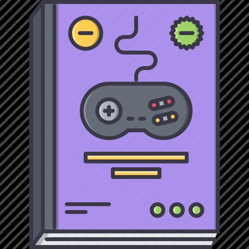 fun, game, magazine, party, video icon