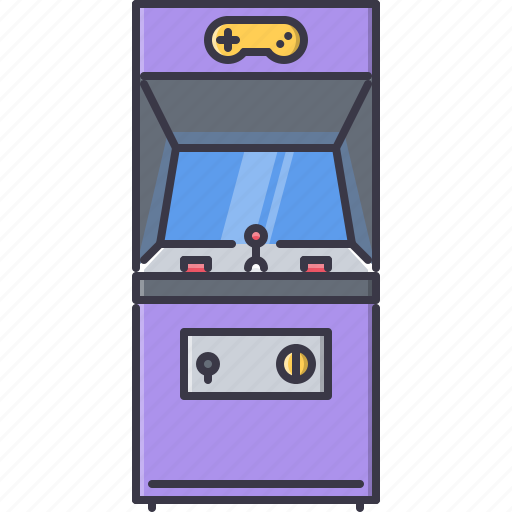 fun, game, machine, party, video icon