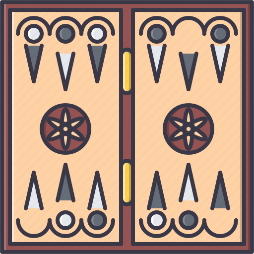 photograph relating to Printable Backgammon Board titled Backgammon Board (All Components Kamal)