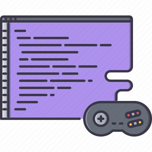code, development, fun, game, gamepad, party, video icon