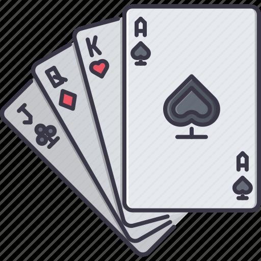 cards, casino, fun, game, party icon