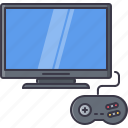fun, game, gamepad, party, tv, video icon