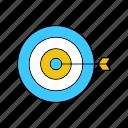arrow, games, sports, target