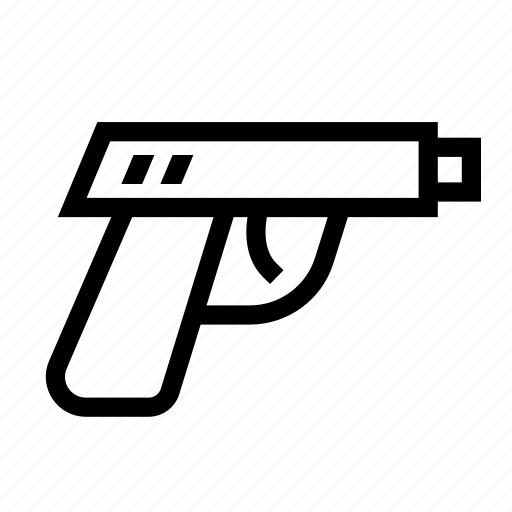 gun, war, weapon icon