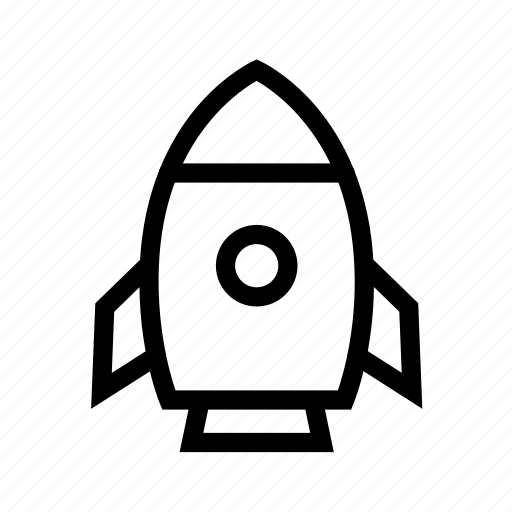 rocket, space, spaceship icon