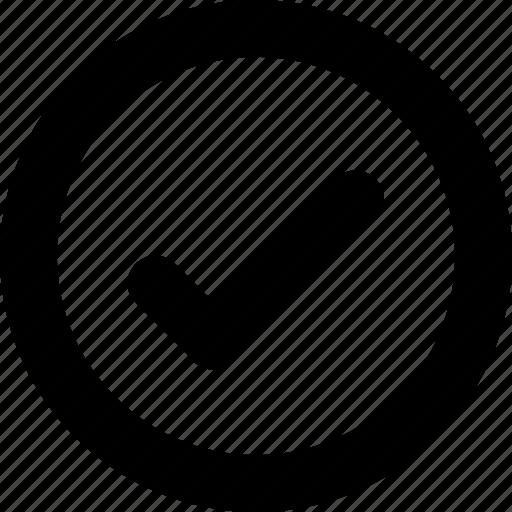 check, checkbox, circle, mark icon