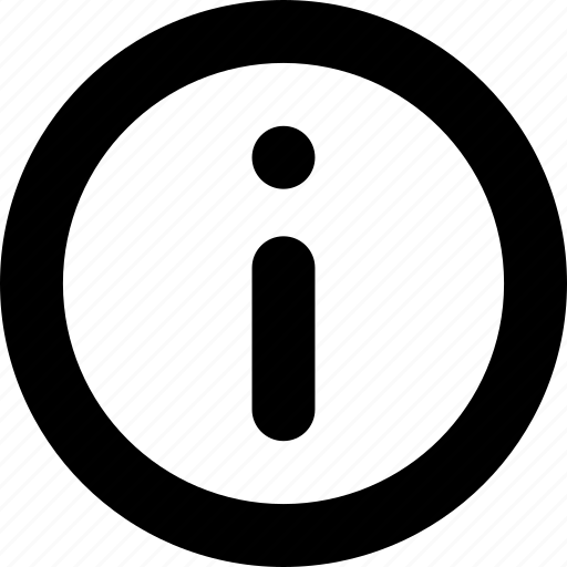 Circle, info, information icon - Download on Iconfinder