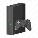 appliance, device, electronics, gadget, gaming, joystick, technology icon