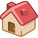building, construction, home, house icon