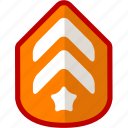 badge, game, level, rank icon