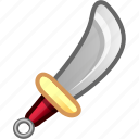 attack, broadsword, game, games, knife, weapon icon