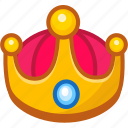 award, crown, king, royal, trophy, vip icon