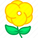 flower, flowers, nature, plant, spring icon
