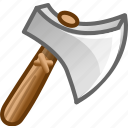 attack, axe, danger, hatchet icon