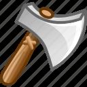 attack, axe, danger, hatchet icon