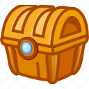 box, game, money, treasure icon