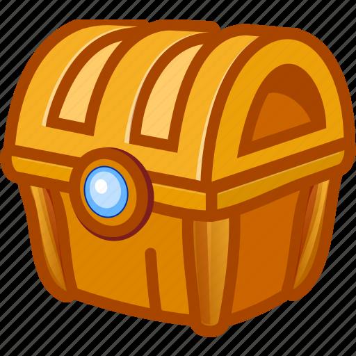 box, game, money, treasure icon