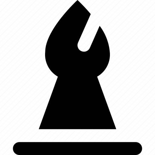 bishop, chess icon
