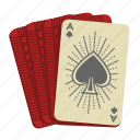 ace, ace of spades, card game, cards, deck of cards, casino, poker