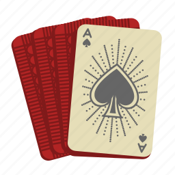 ace, ace of spades, card game, cards, casino, deck of cards, poker icon