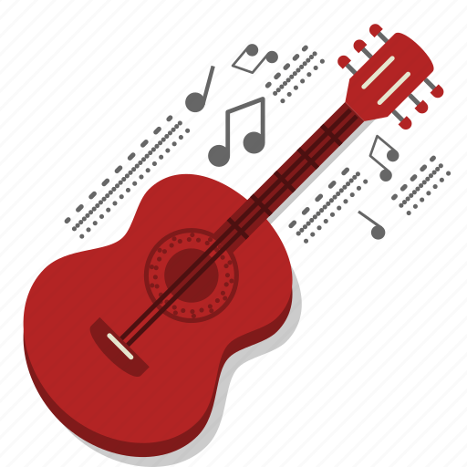 acoustic guitar, band, guitar, instrument, music, serenade, song icon
