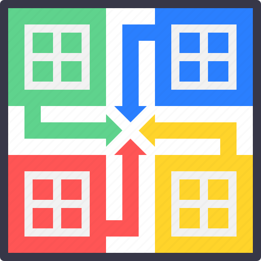 entertainment, fun, game, indoor, ludo icon