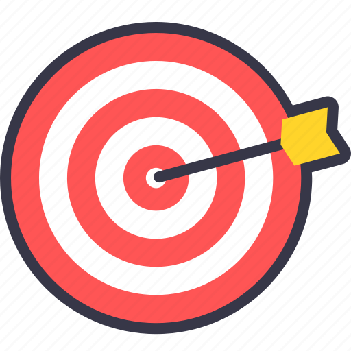 bullseye, dart, dartboard, game, sports, target icon