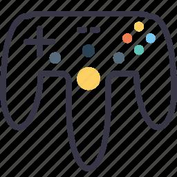 controller, game, gamepad, joypad, joystick, remote, wireless icon