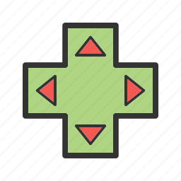arrow, control, game, key, keyboard, keys, play icon