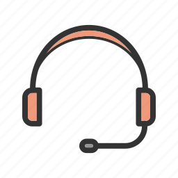 football, gaming, headphones, listening, playing, tablet icon