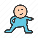 cartoon, character, cute, face, funny, game, video icon
