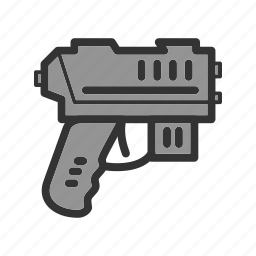 gun, pistol, plastic, play, ray, toy, water icon