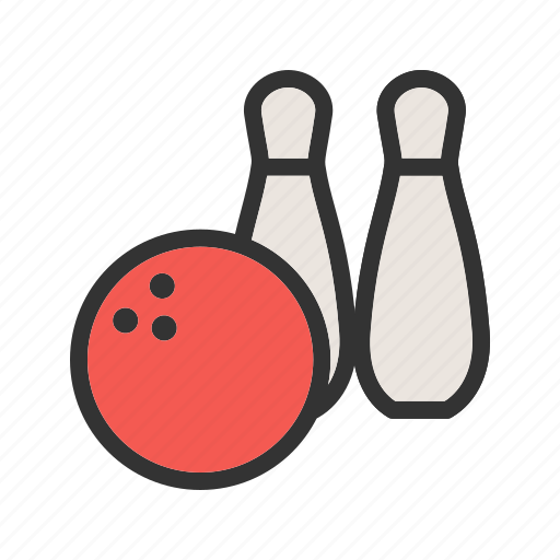 ball, bowling, pins, play, sport, throw icon