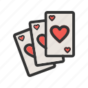 poker, deck, back, game, cards, playing, card