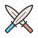 blade, fight, metal, sword, swords, weapon icon