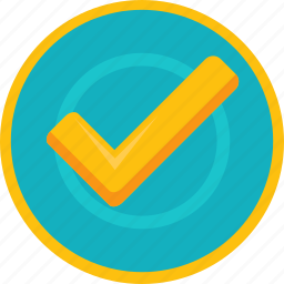 accept, achievement, badge, check, gamification, gold, mark, ok, success, tick icon