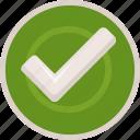 accept, badge, bronze, check, mark, ok, success, tick, yes icon