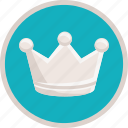 achievement, bronze, crown, premium, prize, royal icon