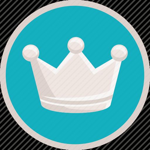 achievement, bronze, crown, premium, prize, royal icon
